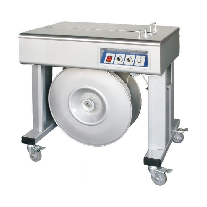 Полуавтоматическая стреппинг машина SP A2H (2 двигателя!) - купить по выгодным ценам | «ДеМа»